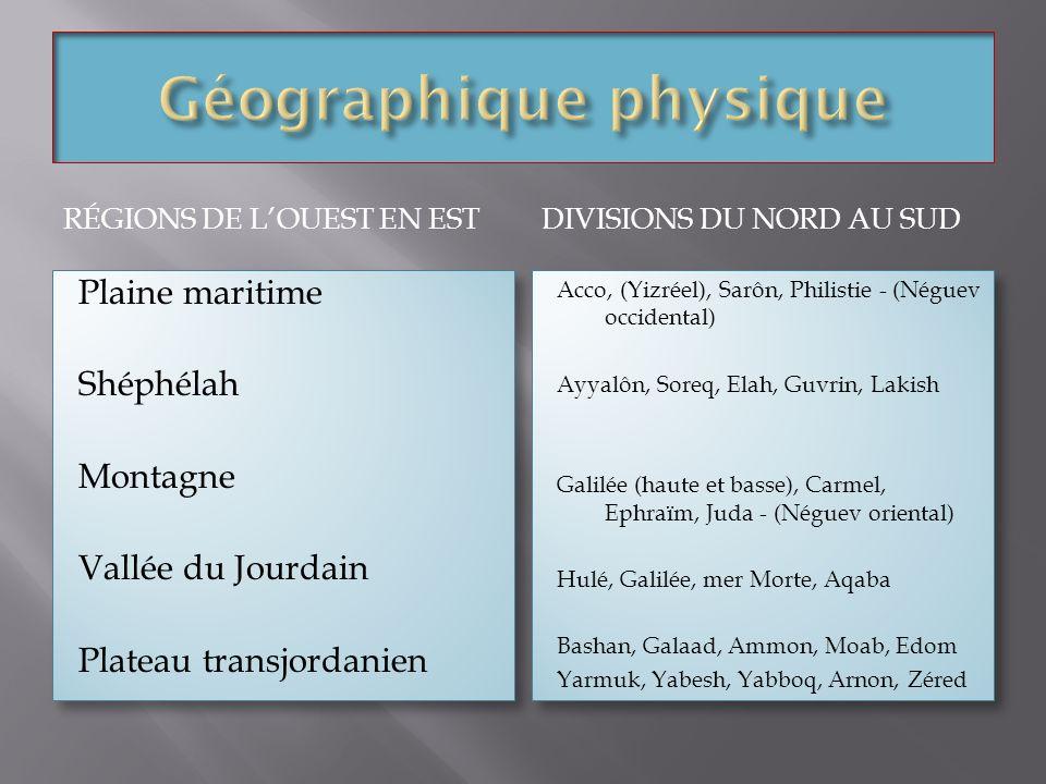 Géographique physique
