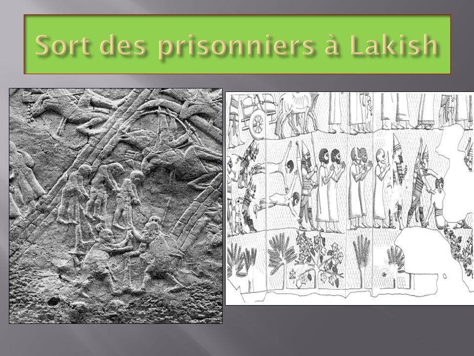 Sort des prisonniers à Lakish