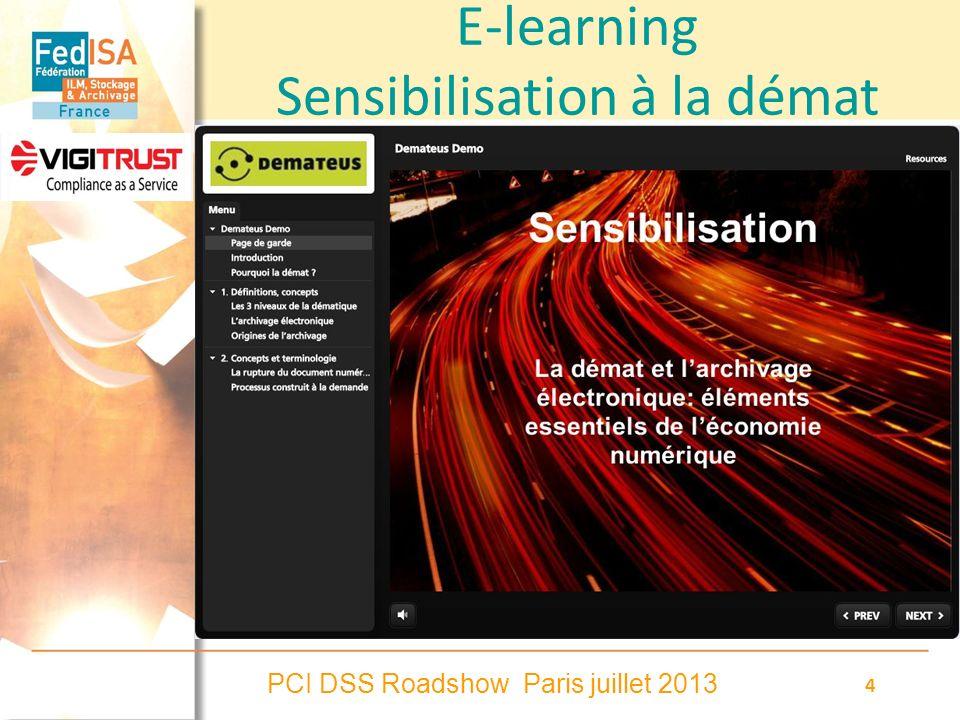 E-learning Sensibilisation à la démat