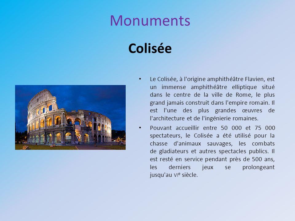 Monuments Colisée