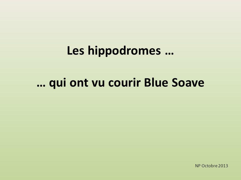 … qui ont vu courir Blue Soave