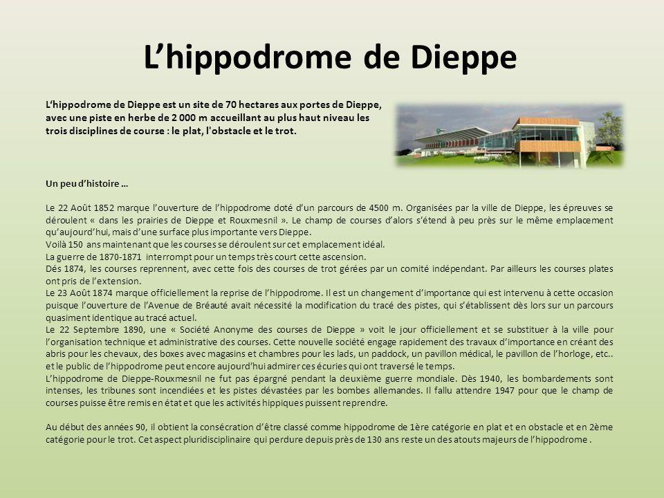 L'hippodrome de Dieppe