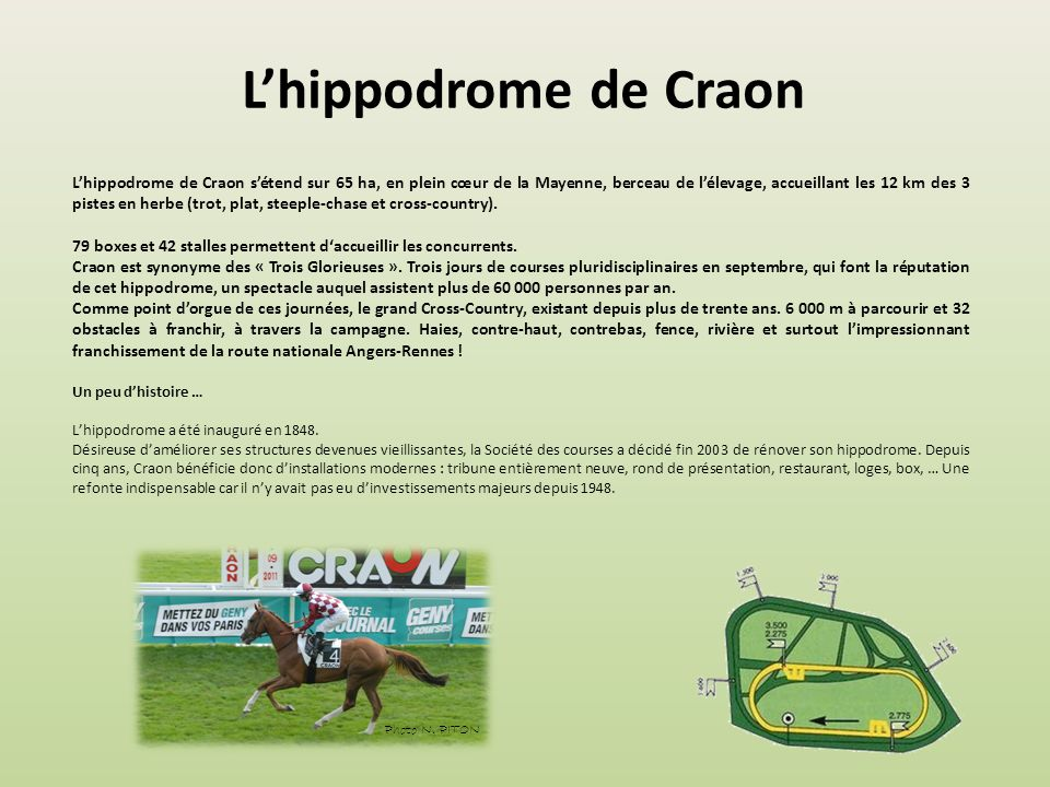 L'hippodrome de Craon