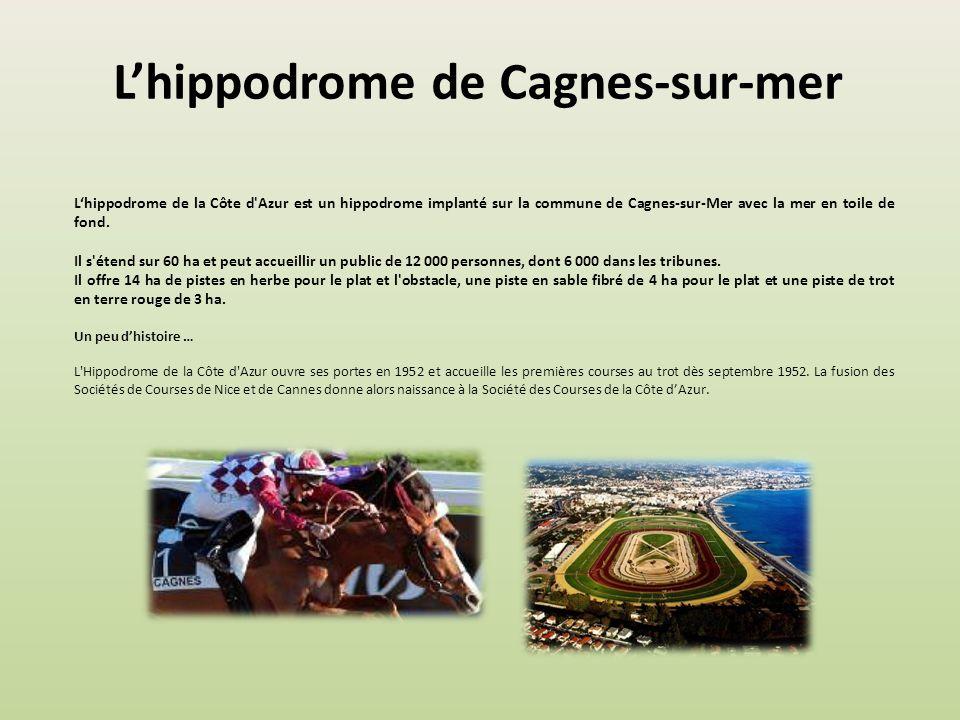 L'hippodrome de Cagnes-sur-mer