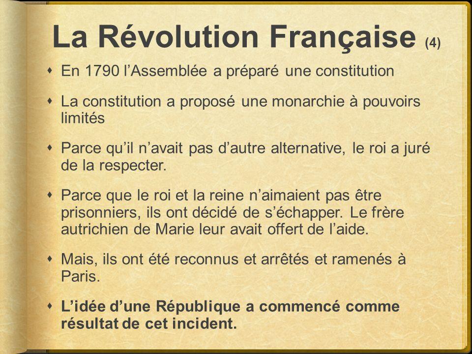 La Révolution Française (4)