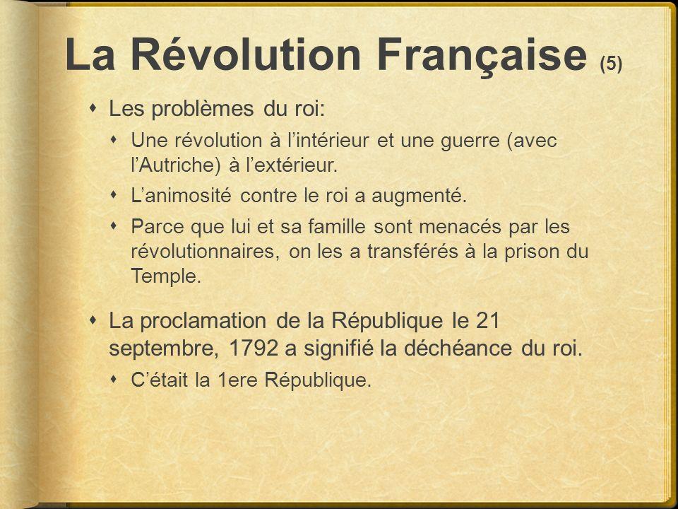 La Révolution Française (5)