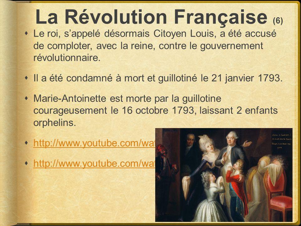 La Révolution Française (6)