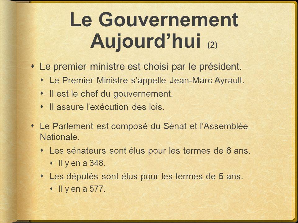 Le Gouvernement Aujourd'hui (2)