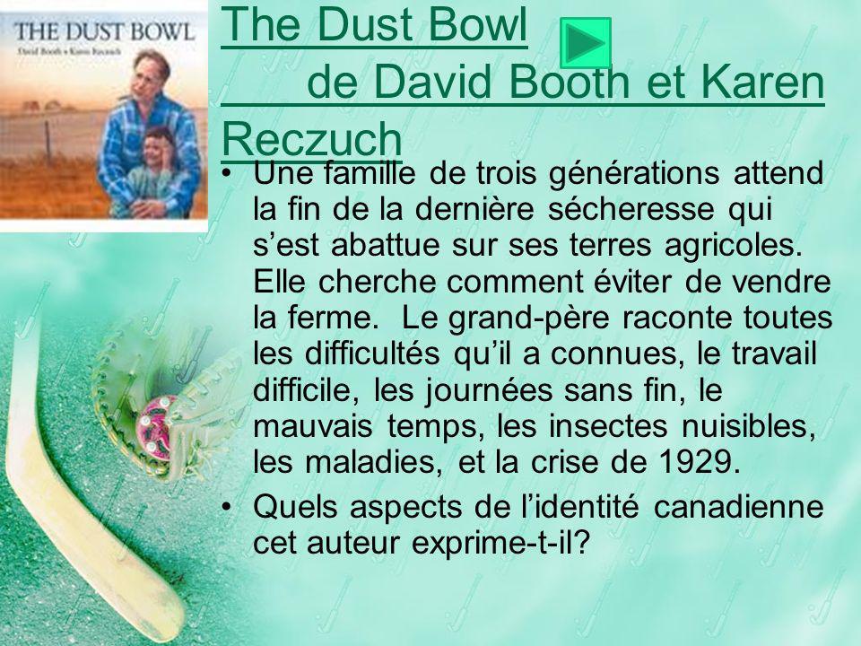 The Dust Bowl de David Booth et Karen Reczuch