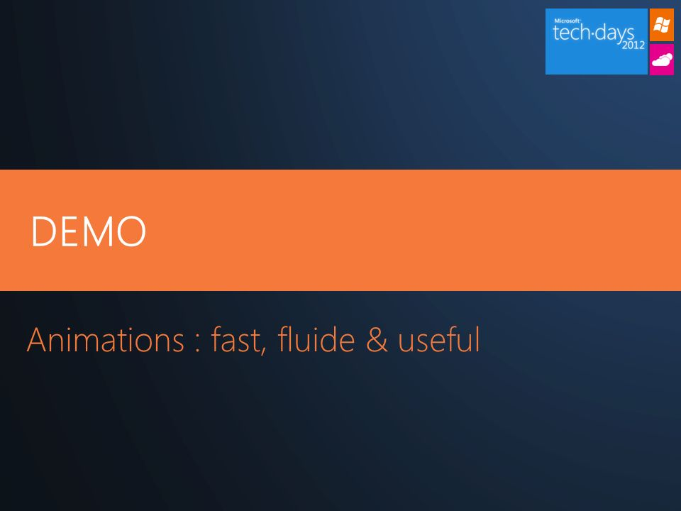 Animations : fast, fluide & useful