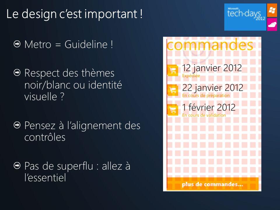 Le design c'est important !