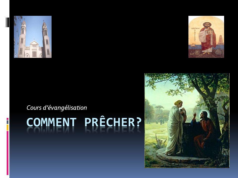Cours d'évangélisation