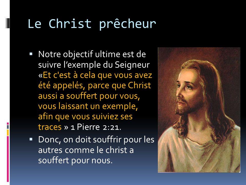 Le Christ prêcheur
