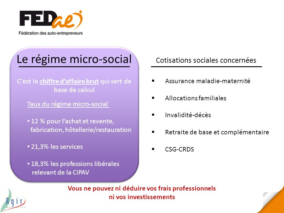 Le régime micro-social