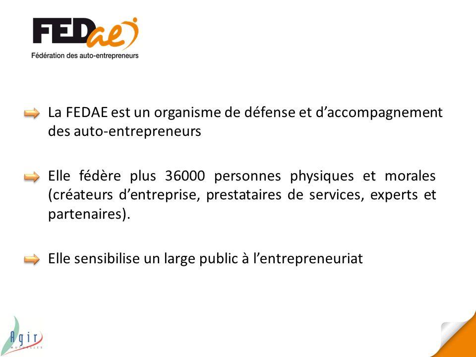 La FEDAE est un organisme de défense et d'accompagnement des auto-entrepreneurs