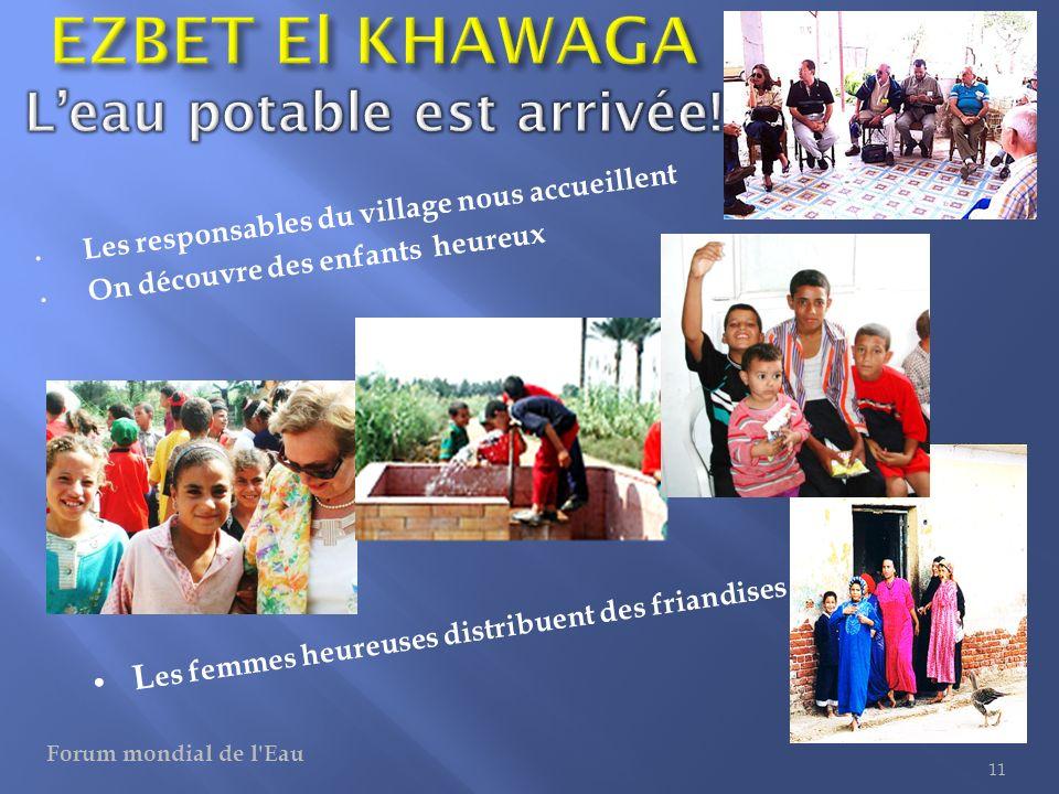 EZBET El KHAWAGA L'eau potable est arrivée!