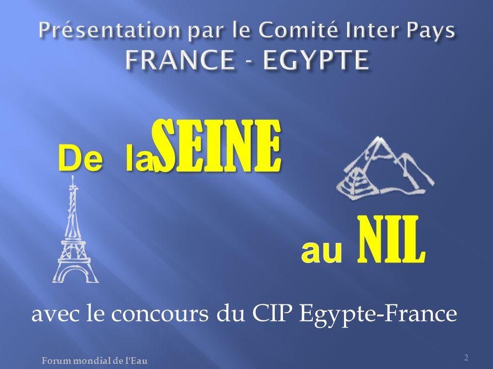 Présentation par le Comité Inter Pays FRANCE - EGYPTE