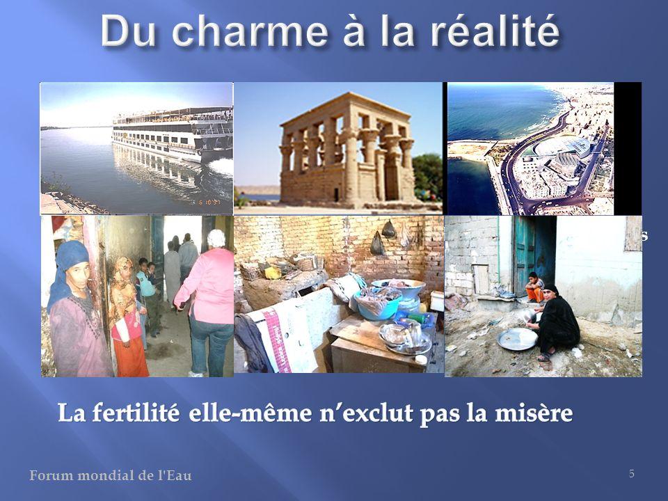 Du charme à la réalité La fertilité elle-même n'exclut pas la misère