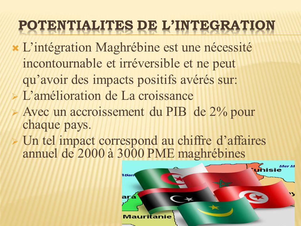 POTENTIALITES DE L'INTEGRATION