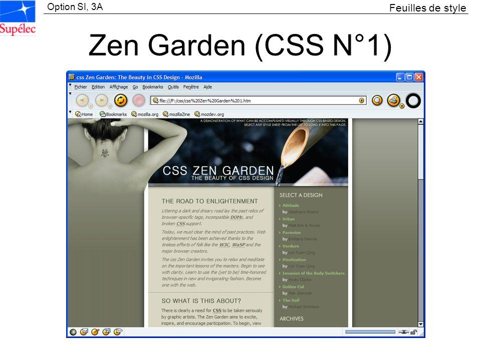 Feuilles de style Zen Garden (CSS N°1)