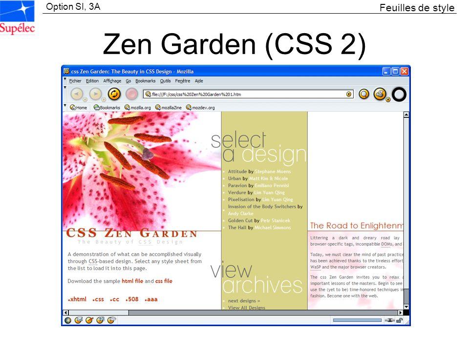 Feuilles de style Zen Garden (CSS 2)
