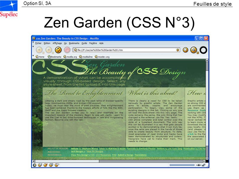 Feuilles de style Zen Garden (CSS N°3)