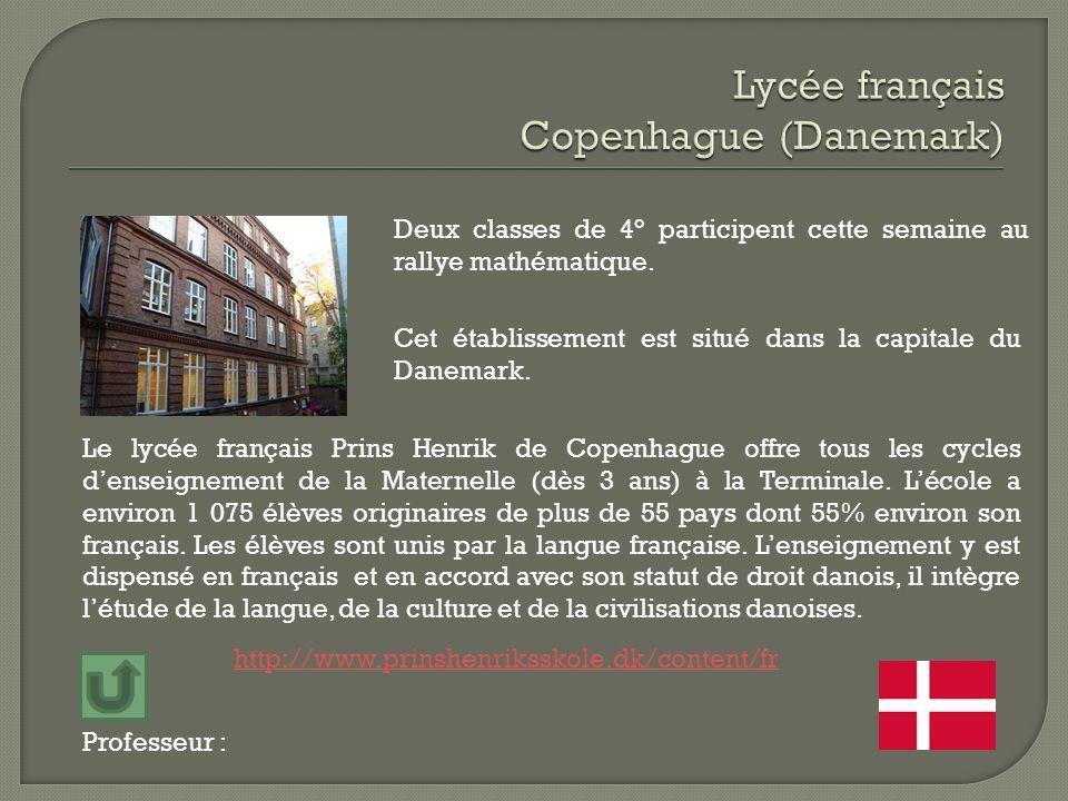 Lycée français Copenhague (Danemark)