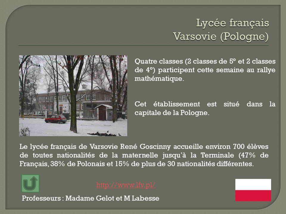 Lycée français Varsovie (Pologne)