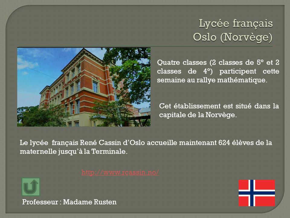 Lycée français Oslo (Norvège)