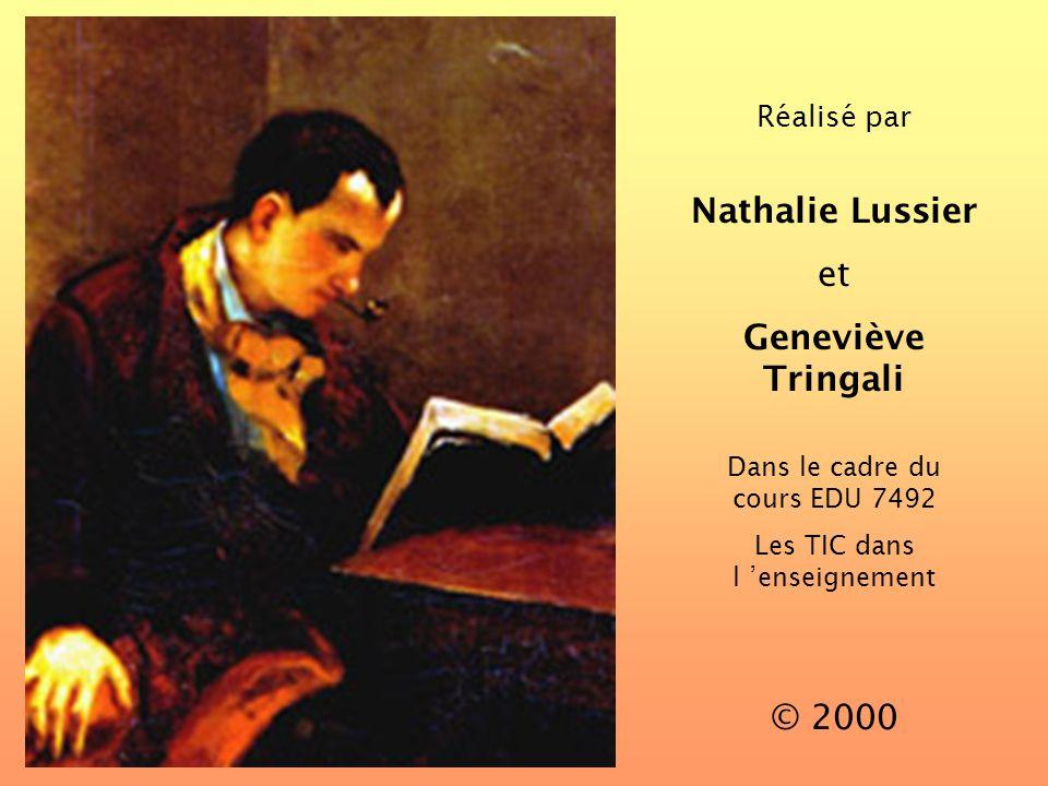 Nathalie Lussier Geneviève Tringali