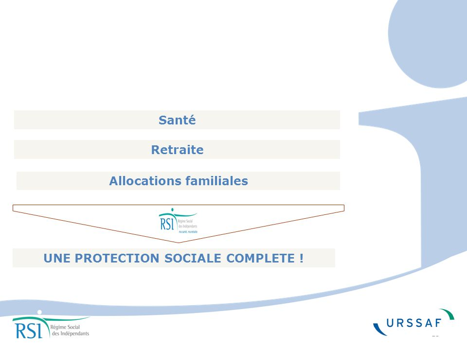Allocations familiales UNE PROTECTION SOCIALE COMPLETE !
