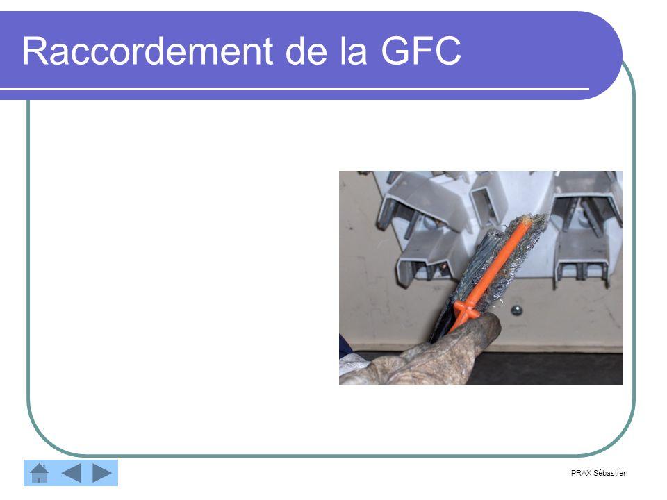 Raccordement de la GFC PRAX Sébastien