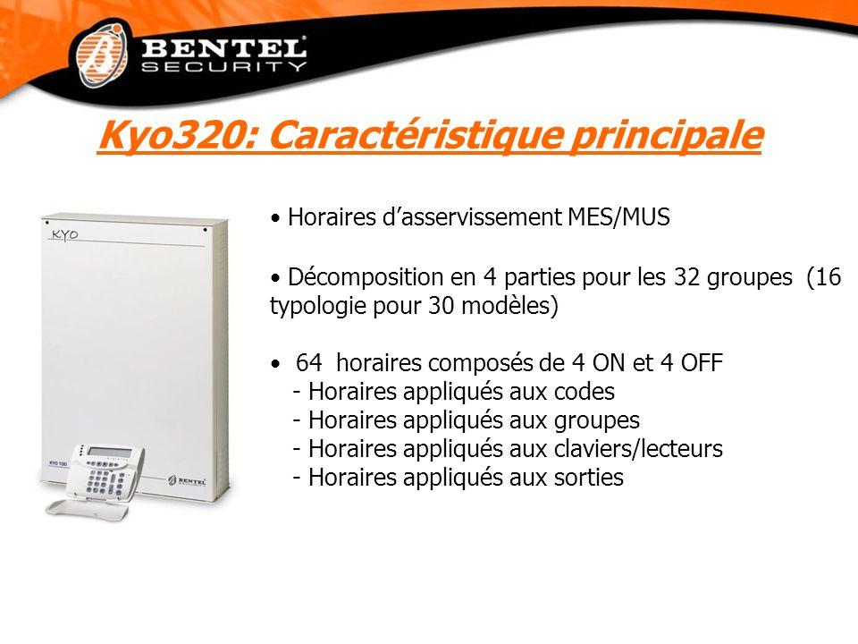 Kyo320: Caractéristique principale
