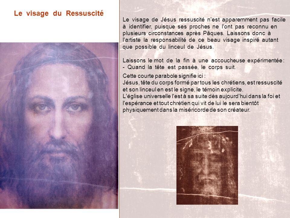 Le visage du Ressuscité