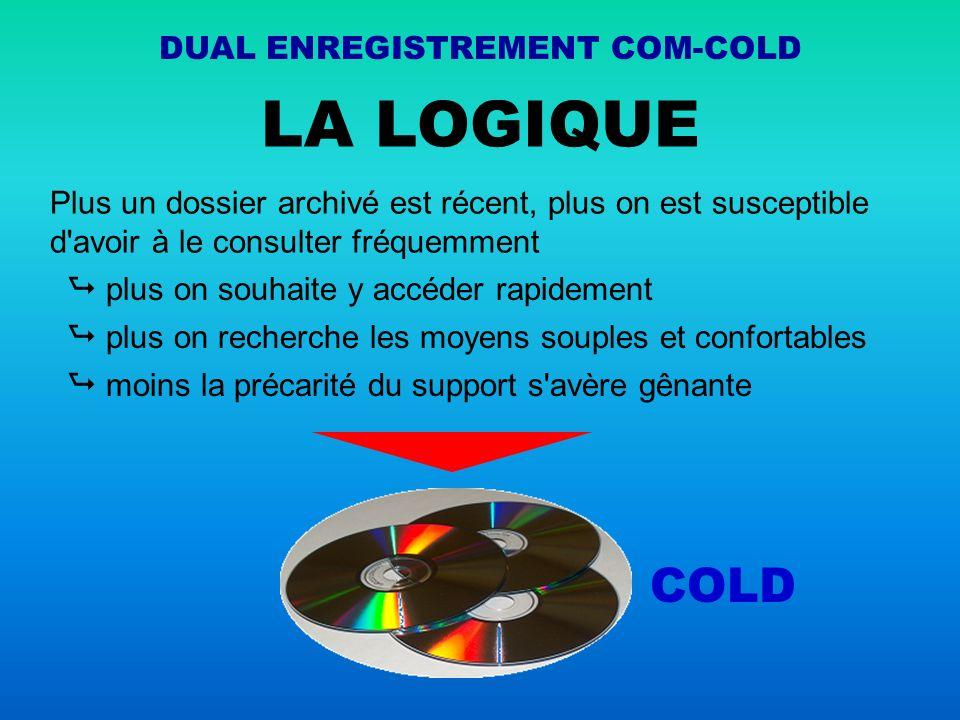 DUAL ENREGISTREMENT COM-COLD