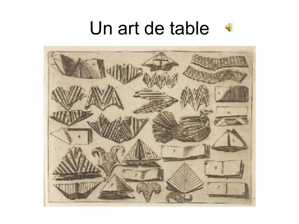 Un art de table