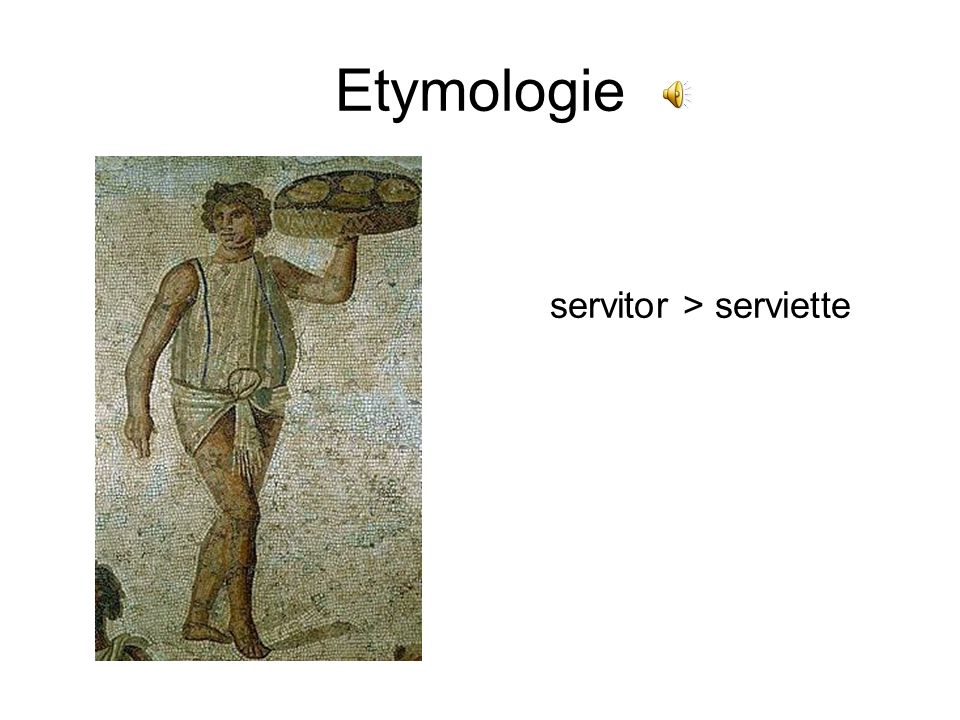 servitor > serviette