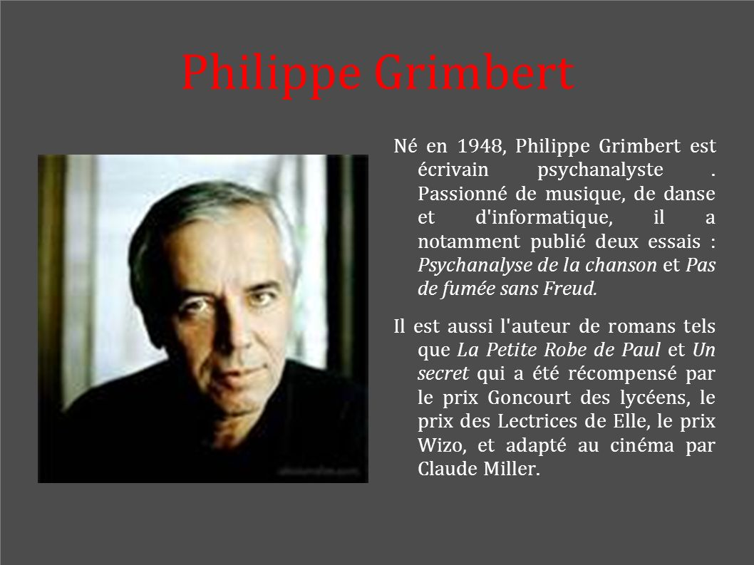 Philippe Grimbert