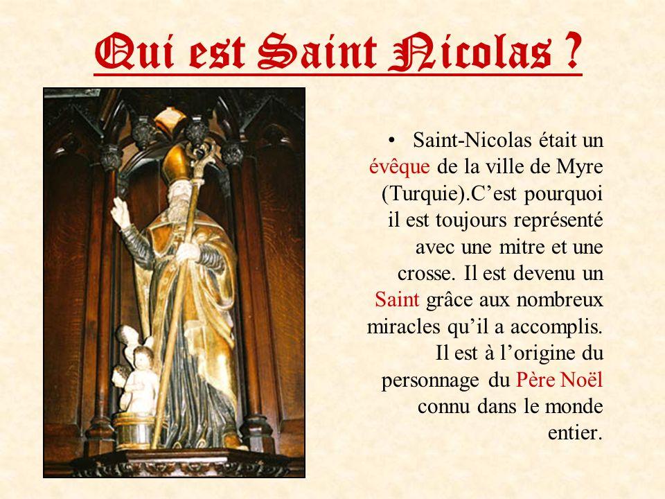 Qui est Saint Nicolas