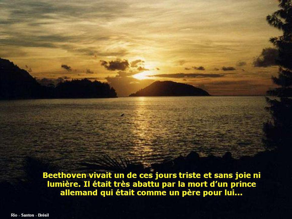 Beethoven vivait un de ces jours triste et sans joie ni lumière