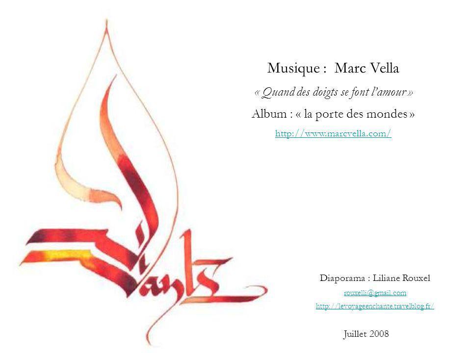 Musique : Marc Vella « Quand des doigts se font l'amour »