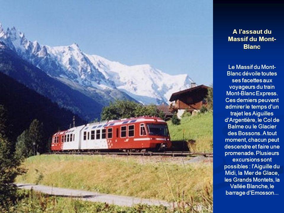 A l assaut du Massif du Mont-Blanc