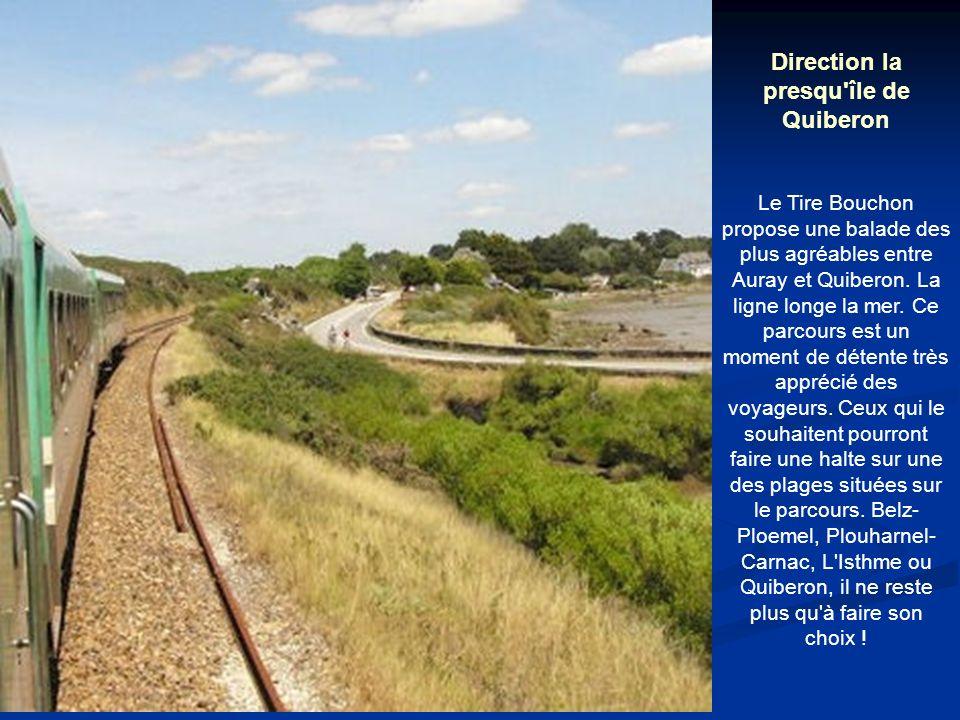 Direction la presqu île de Quiberon