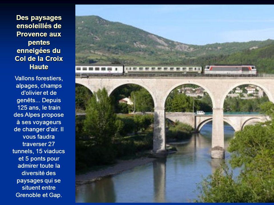 Des paysages ensoleillés de Provence aux pentes enneigées du Col de la Croix Haute