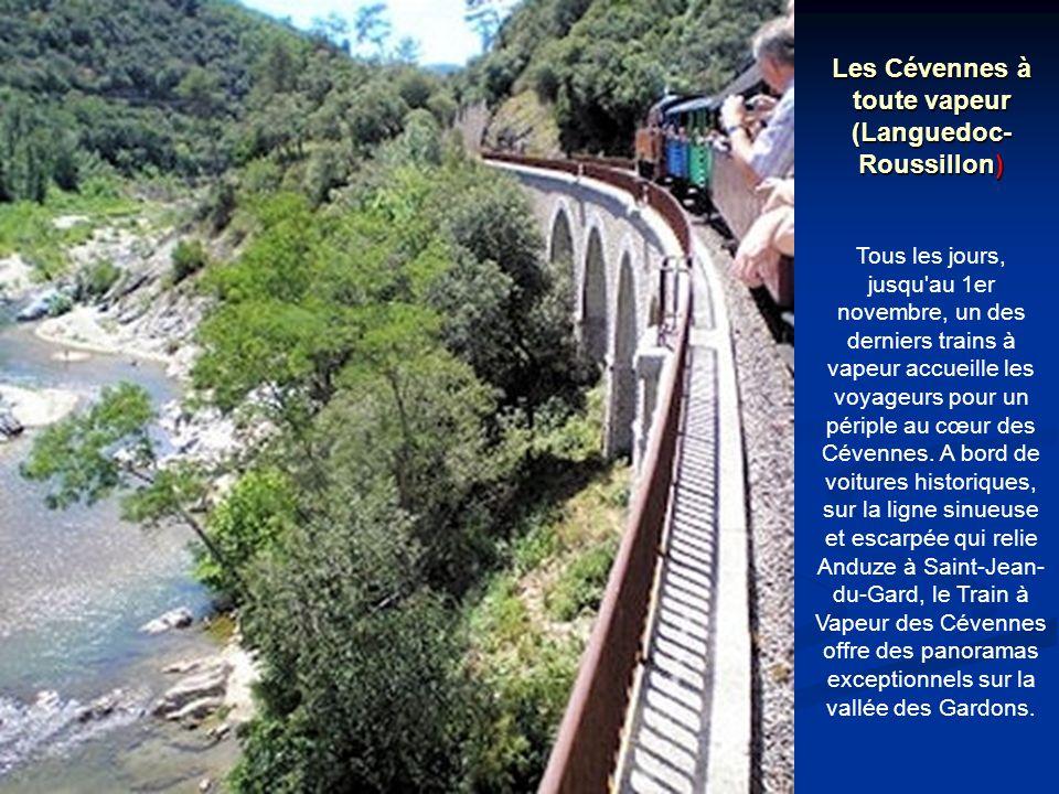 Les Cévennes à toute vapeur (Languedoc-Roussillon)