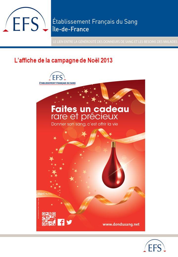 L'affiche de la campagne de Noël 2013