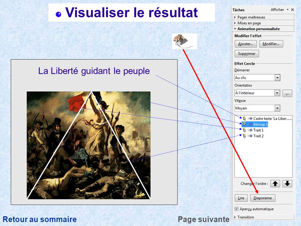 Visualiser le résultat