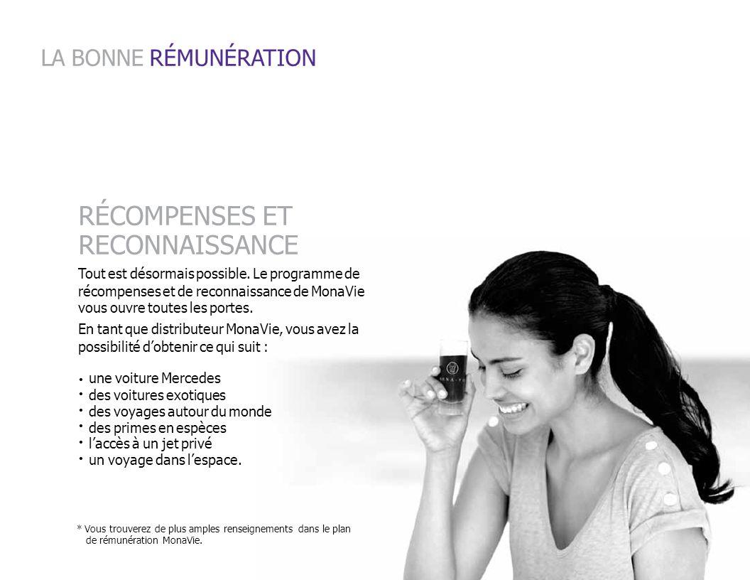 LA BONNE RÉMUNÉRATION RÉCOMPENSES ET RECONNAISSANCE
