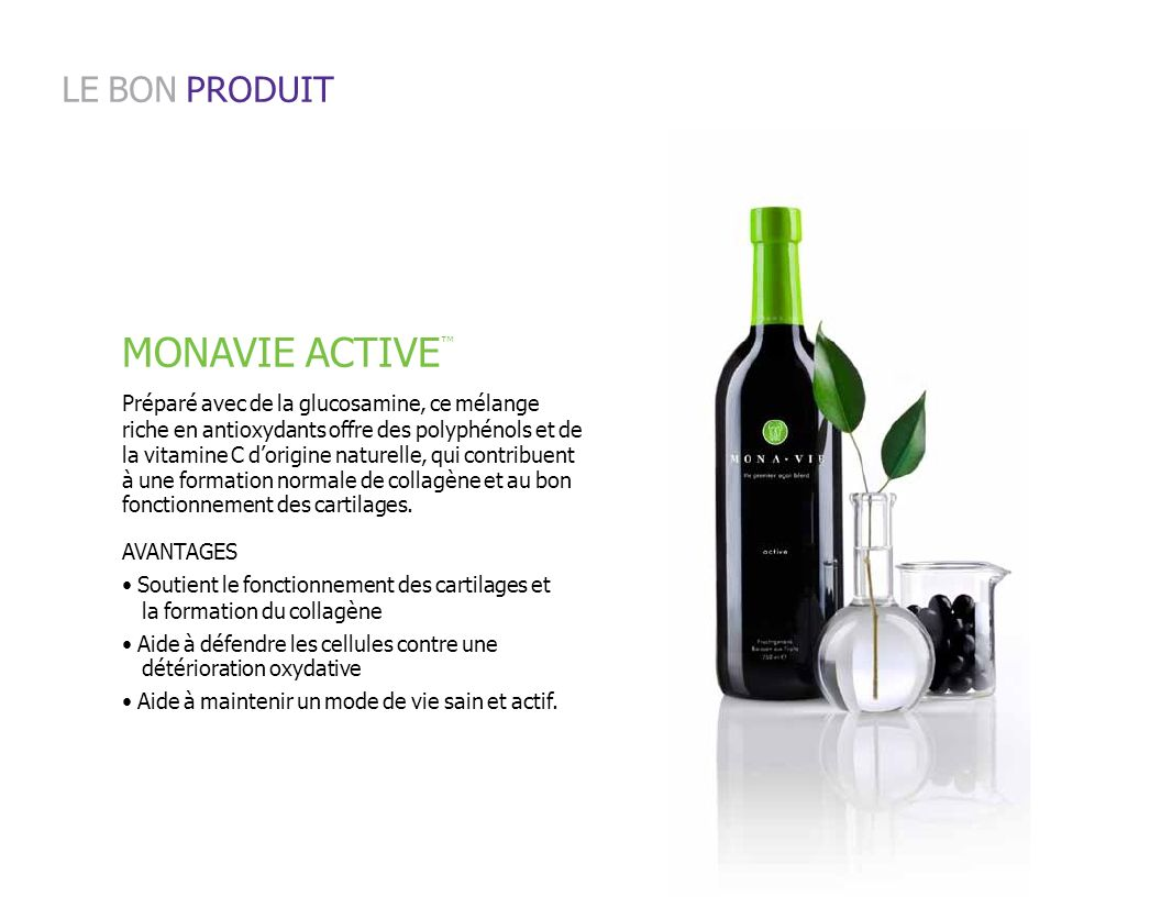 MONAVIE ACTIVE LE BON PRODUIT