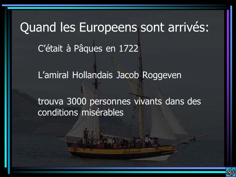 Quand les Europeens sont arrivés: